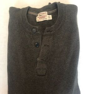 American Eagle Henley Sweater